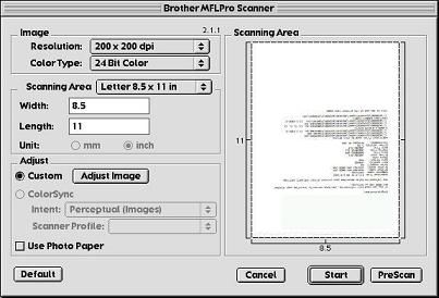Brother MFC-8420 Scanner Resolution Improvement Driver Windows 7