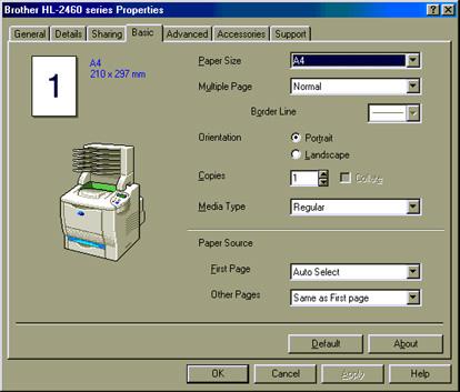 Brother HL-7050 BR-Script Windows Vista 32-BIT
