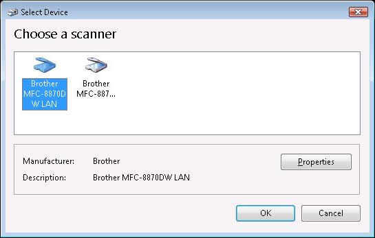 How do I start the Scanner and Camera Wizard in Windows Vista