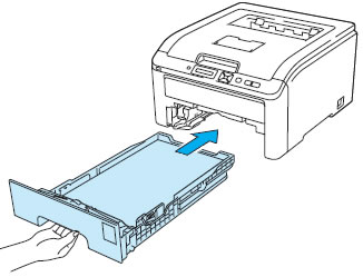 how to put envelope in brother printer