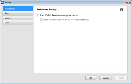 Receive faxes on the computer for Windows® (PC-FAX Receive) | Brother