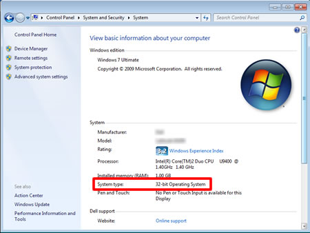 how to tell what bit your computer is windows 8