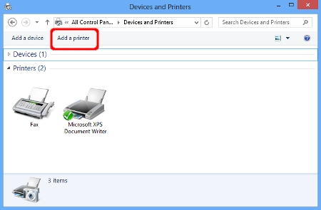 Install the built-in drivers (For Windows 8 or later)   Brother