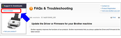 Update the Driver or Firmware for your Brother machine | Brother