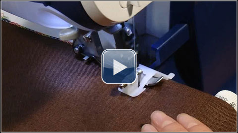 How To Use The Blind Stitch Foot Optional Accessory X4040 Fascinating Blind Stitch Brother Sewing Machine