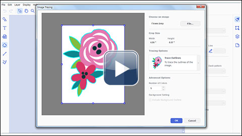 How to use Image Tracing [Video] | Brother
