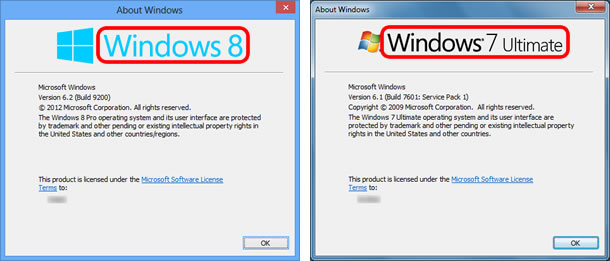 Check the version of Windows®